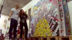Video «Bastian und Isabelle: Ein kunterbuntes Künstlerpaar» abspielen