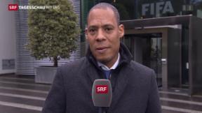 Video «Gesperrter Blatter will kämpfen» abspielen