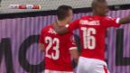 Video «Fussball: EM-Qualifikation, Highlights Schweiz - Litauen» abspielen