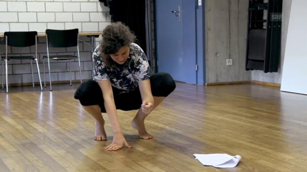 Video «Annabelle lernt ihren Text» abspielen