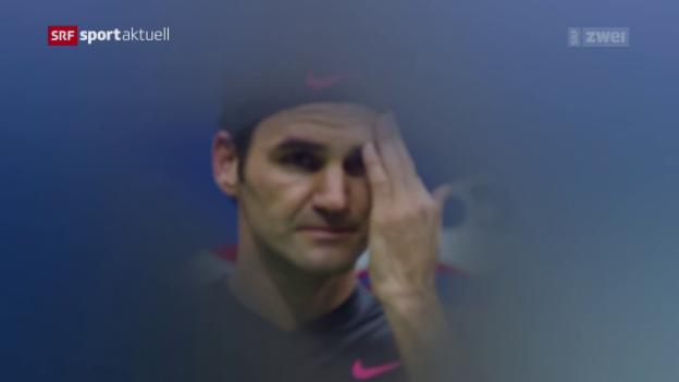 Video «Rückblick auf den US-Open-Viertelfinal Federer - Del Potro» abspielen