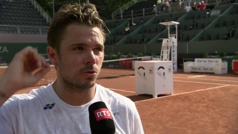 Link öffnet eine Lightbox. Video Wawrinkas Ziele vor den French Open (franz.) abspielen