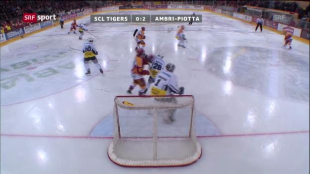 Video «Eishockey: SCL Tigers - Ambri» abspielen
