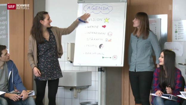 Video «Wenn die Studentin zur grossen Schwester wird» abspielen