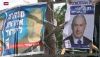 Video «Wahlen in Israel: knappes Rennen um die Knesset» abspielen
