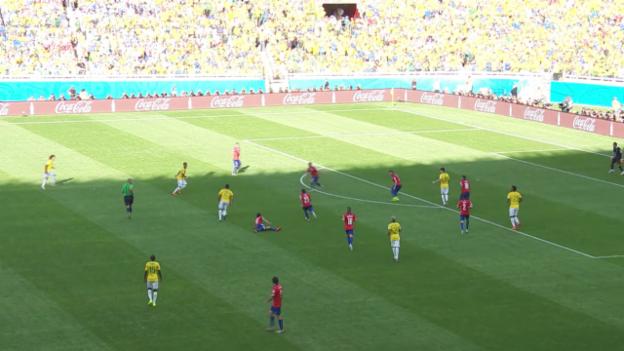 Video «Spielbericht Brasilien - Chile» abspielen