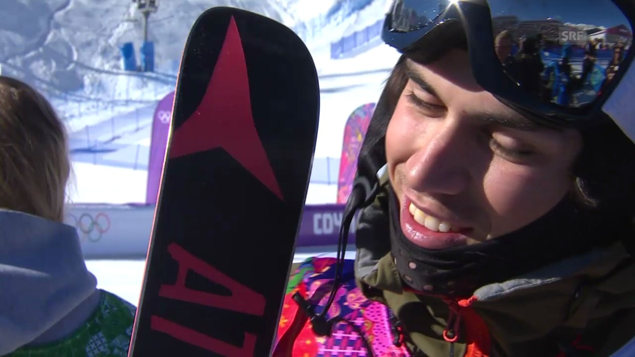 Slopestyle: Interview mit Elias Ambühl (sotschi direkt, 13.2.2014)