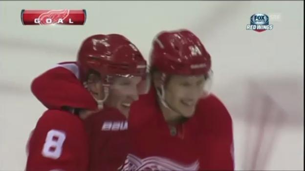 Video «NHL: Tore Detroit - Edmonton» abspielen
