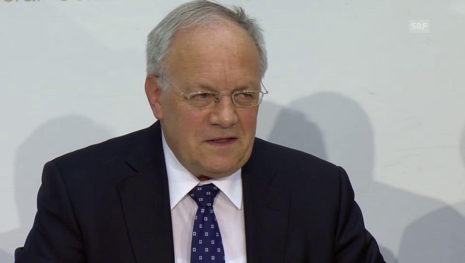 Schneider-Ammann zu Lösung mit EU: «Quadratur des Kreises»