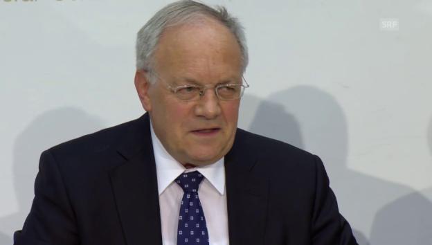 Video «Schneider-Ammann zu Lösung mit EU: «Quadratur des Kreises»» abspielen