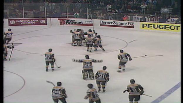 Video «Lugano krönt sich 1990 zum Meister» abspielen