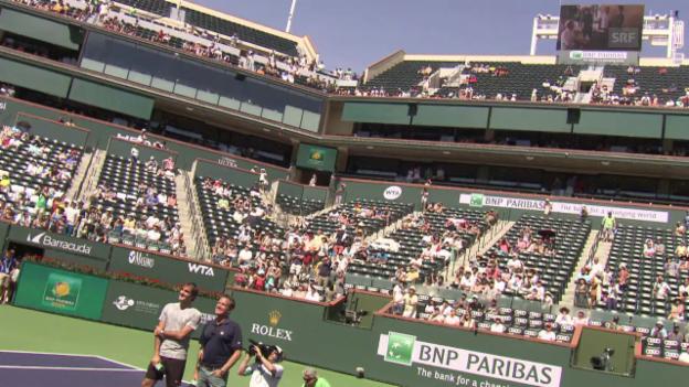 Video «Superstar Federer auf der ganz grossen Bühne» abspielen