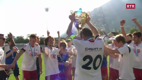 Laschar ir video «LAS SCENAS dal final da la Cuppa Grischuna tar ils umens»