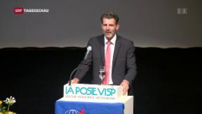 Video «Mahnende Worte zum Rahmenabkommen» abspielen