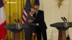 Video «Hollande auf USA-Besuch» abspielen