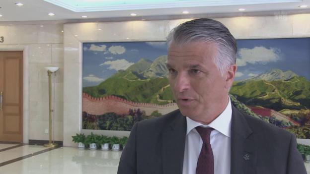 Video «Sergio Ermotti zur Zusammenarbeit von Politik und Wirtschaft» abspielen