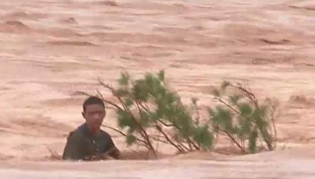 Video «Marokko: Tote und Vermisste nach Flut» abspielen