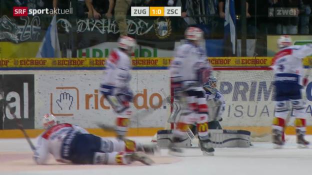 Video «Eishockey: NLA, Zug - ZSC Lions» abspielen