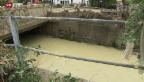Video «Verheerende Überschwemmungen in Altstätten» abspielen