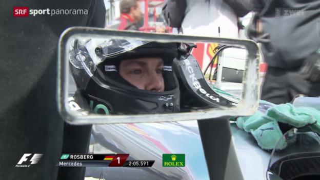 Video «Formel 1: GP Belgien in Spa» abspielen