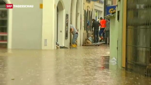 Video «Überflutungen in Europa» abspielen