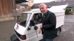 Video «Ein überraschendes Wiedersehen mit Sepp Steiger seinem Vespacar» abspielen