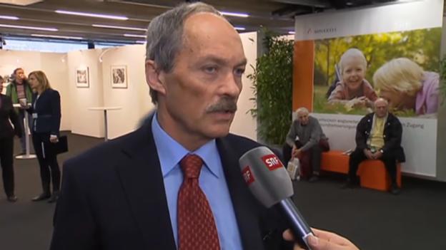 Video «Actares-Präsident Rudolf Meyer kommt zu Wort» abspielen