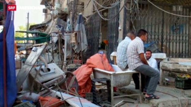 Video «Anschlagsserie in Irak» abspielen
