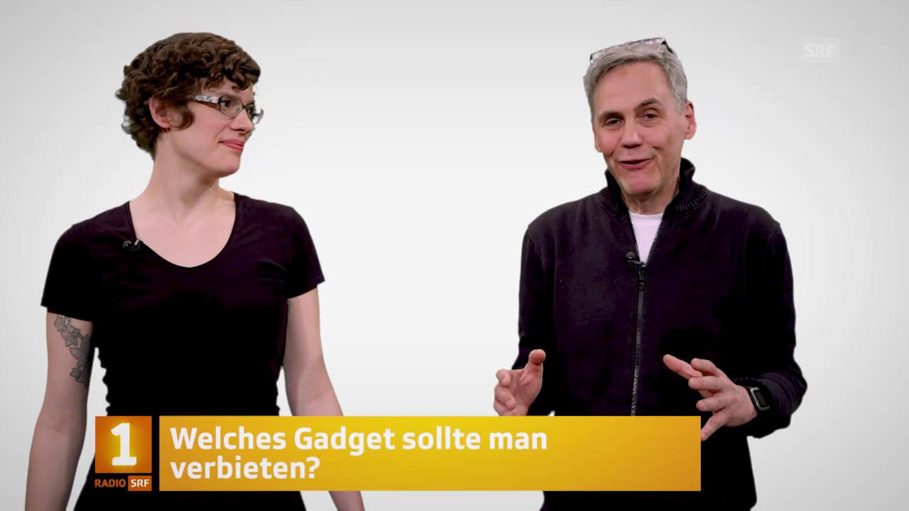 Digital: Méline Sieber und Peter Buchmann