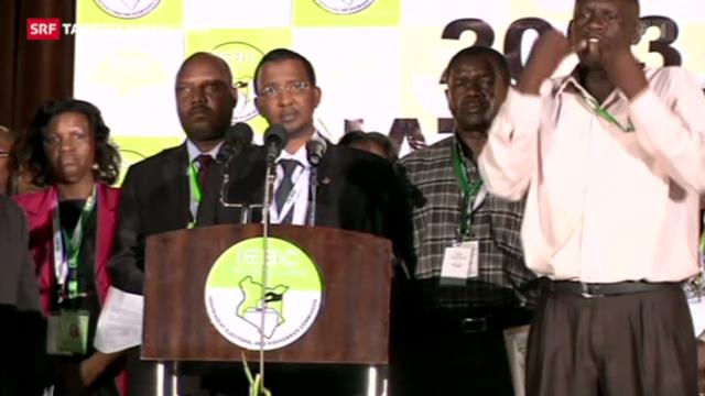 Spannung und Hoffnung in Kenia