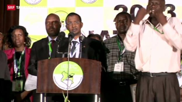 Video «Spannung und Hoffnung in Kenia» abspielen