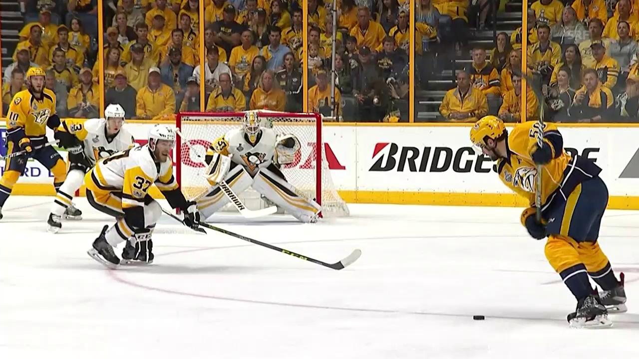 Nashville feiert zuhause den 1. Sieg im Stanley-Cup-Final