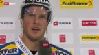 Video «Eishockey: Stimmen zu EVZ-HCD («sportaktuell»)» abspielen