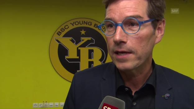 Video «YB-VR-Präsident stellt Sportchef-Personalie in Frage» abspielen