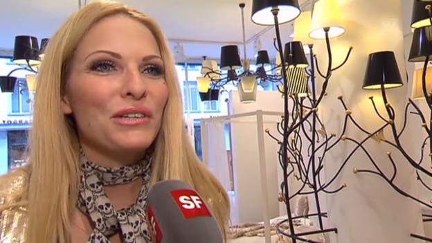 Video «Sonya Kraus über ihr Mutter-Dasein» abspielen
