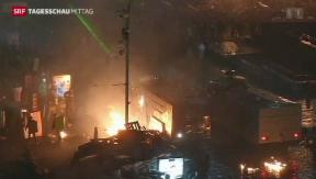 Video «Gewalt in Kiew eskaliert» abspielen