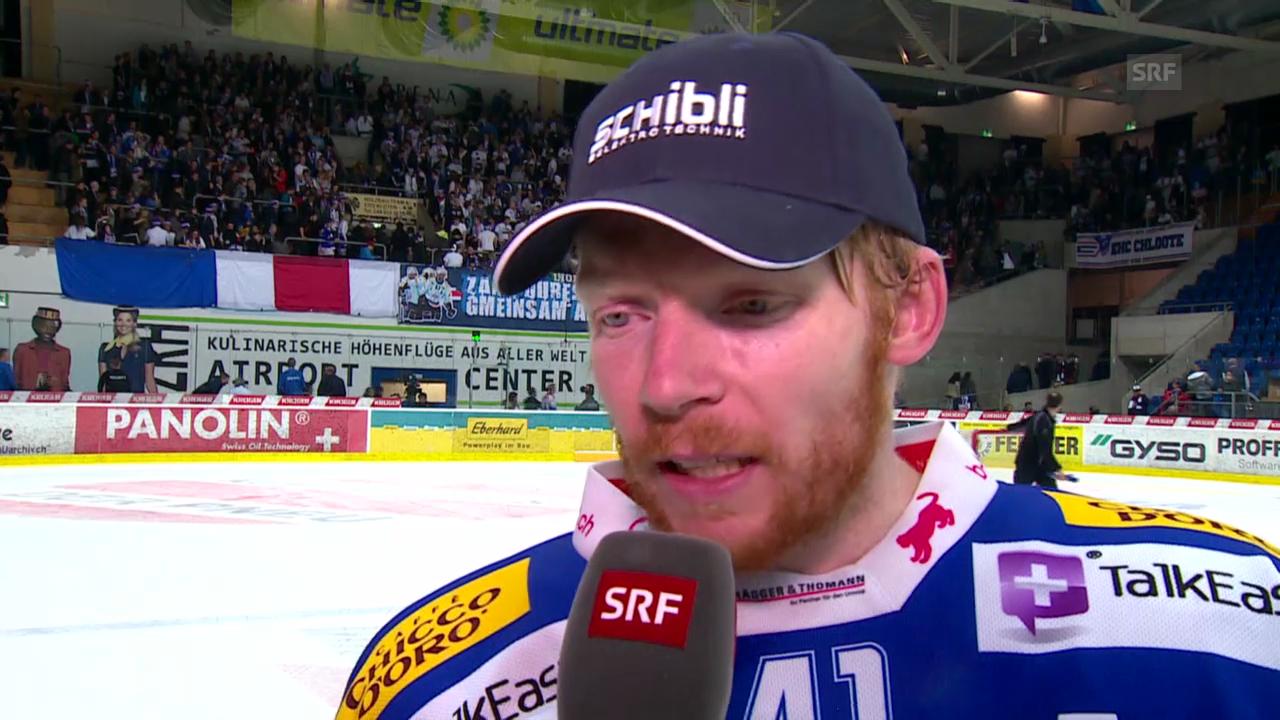 Eishockey: Interview mit Kloten-Stürmer Michael Liniger