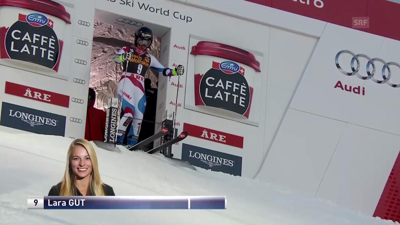 Ski Alpin: 2. Lauf von Lara Gut