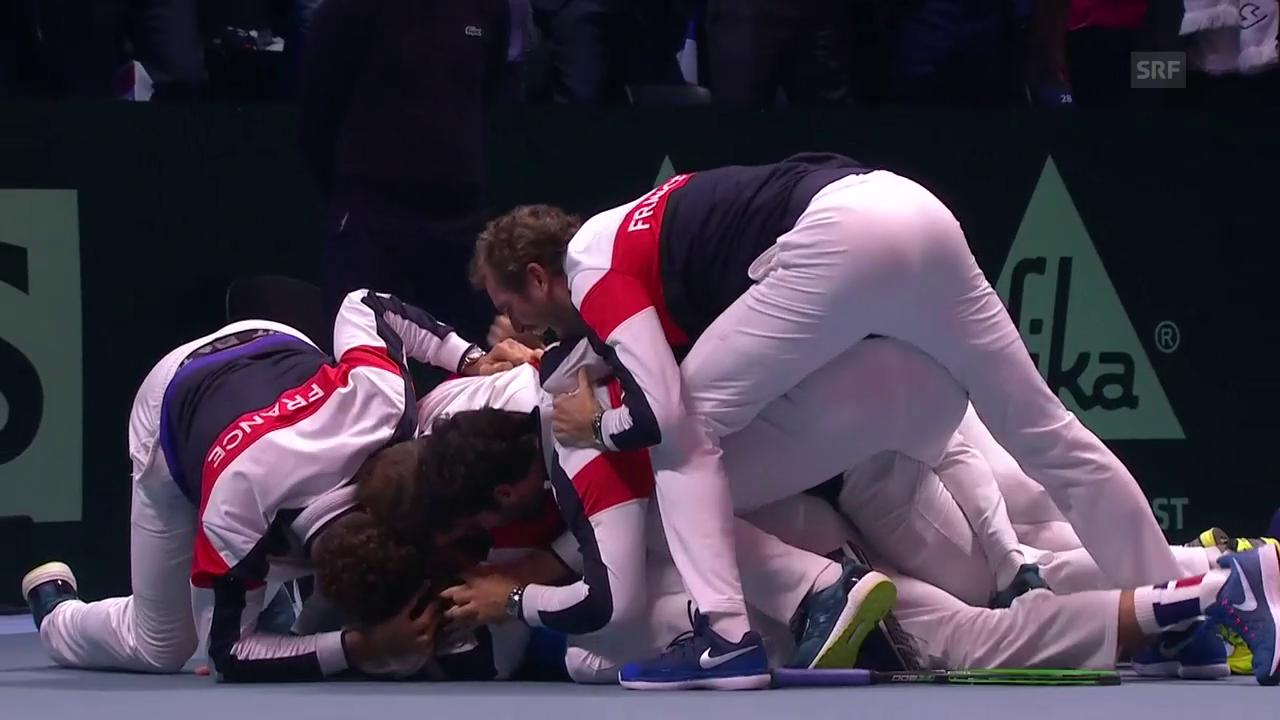 Die Erlösung: Frankreich gewinnt Davis Cup