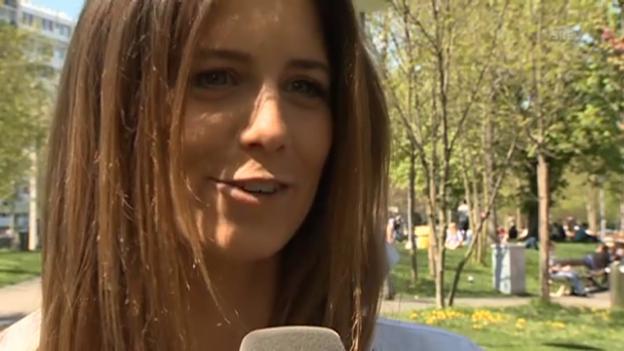 Video «Annina Campell über ihren Moderations-Job «Das Experiment - Wo ist dein Limit?»» abspielen