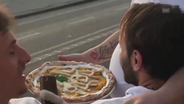Video «Eine Pizza für den Papst» abspielen
