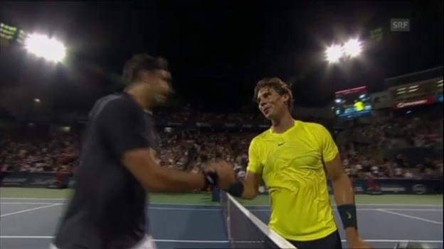 Video «Highlights Nadal - Matosevic (unkommentiert)» abspielen