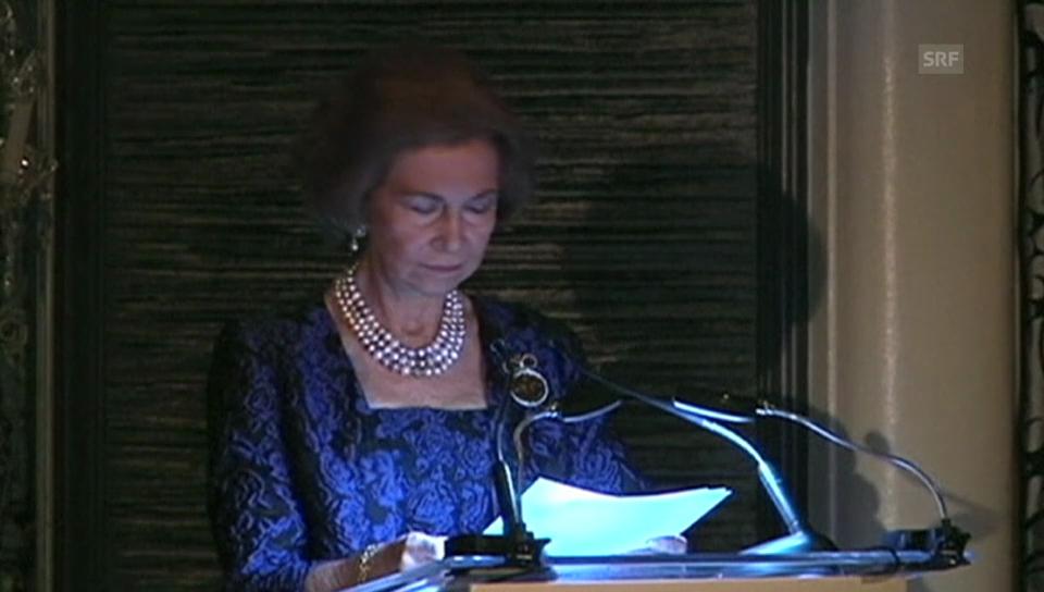 Königin Sofia ehrt Antonio Banderas