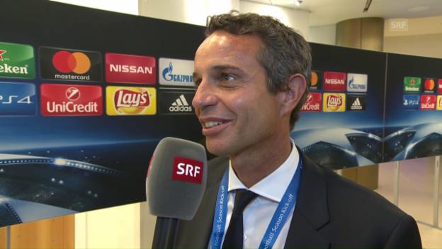Video «Bernhard Heusler: «Arsenal war die grosse Hoffnung»» abspielen