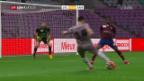 Video «Xamax feiert nach 0:0 gegen Servette den Aufstieg» abspielen