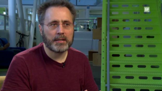 Video «Urs Hölzle zu Energieeffizienz dank Warehouse-Scale-Computing.» abspielen