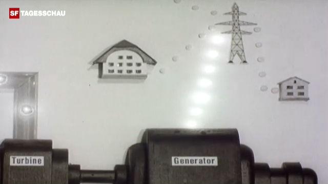 Aus dem Archiv: Begeisterung über Schweizer Atomreaktor (1963)