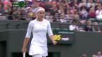 Video «Tennis: Lisicki - Kanepi» abspielen