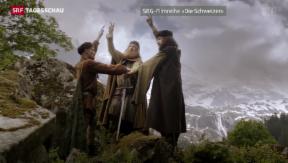 Video «Wiedergeburt von Stauffacher, Waldmann und Von der Flüe» abspielen