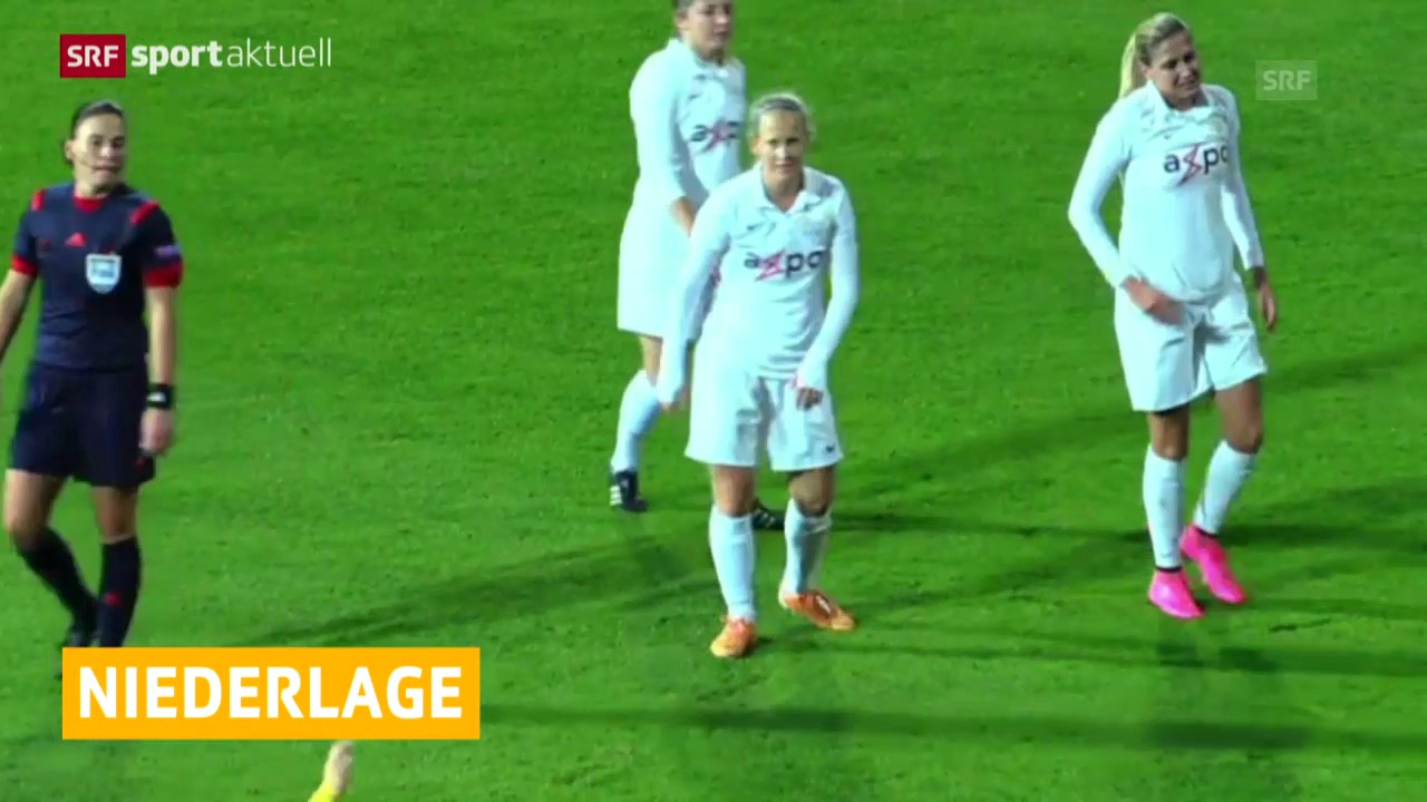 Fussball: CL Frauen, Lilleström-FCZ